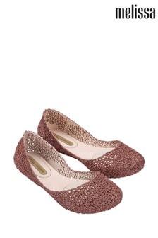 Melissa Rose Gold Papel Shoes