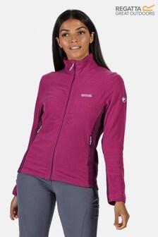 Regatta Purple Highton Full Zip Fleece Jacket