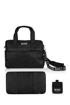 Black Baby Changing Bag