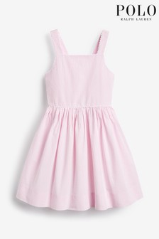 Ralph Lauren Pink Stripe Dress