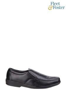 Fleet & Foster Black Alan Formal Shoes