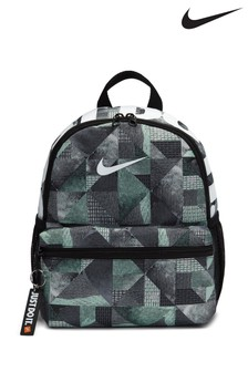 Nike Kids Black Printed JDI Brasilia Backpack