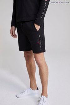 Tommy Hilfiger Black Essential Tommy Sweat Shorts