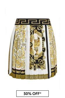 Girls White Skirt