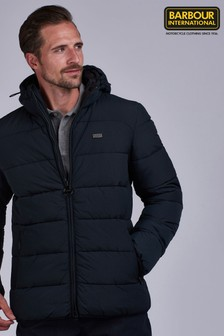 Barbour® International Court Quilted Hooded Jacket