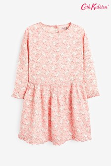 Cath Kidston® Pink Jumping Bunnies Dress