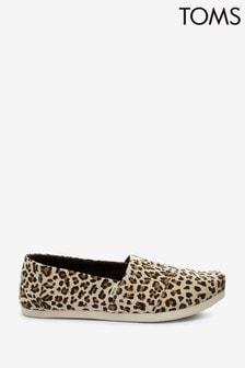 TOMS Birch Leopard Print Alpargata Shoes