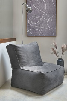 Opulent Velvet Bean Bag Chair