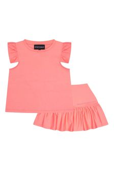 Emporio Armani Girls Pink Outfit