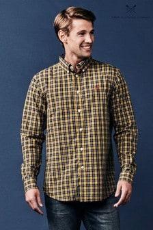 Crew Clothing Hexton Classic Hemd, Blau