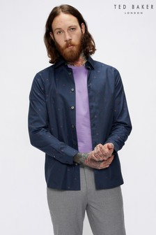 Ted Baker Treeo Coupe Denim Shirt