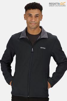Regatta Black Cera V Full Zip Softshell Jacket