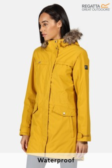 Regatta Yellow Serleena II Waterproof Jacket