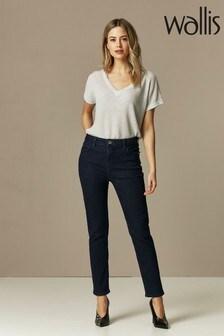 Wallis Jeans mit schmalem Bein in Kurzgrößen, indigoblau