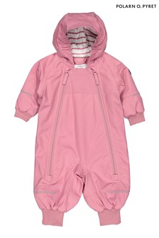 Polarn O. Pyret Pink Waterproof Shell Overalls