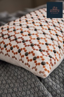 Bedeck of Belfast Alani Embellished Cotton Cushion