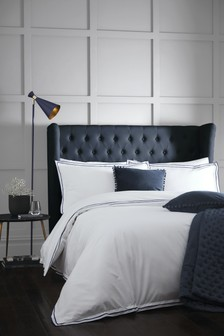 Alden 180 Thread Count Duvet Cover and Pillowcase Set by Signature