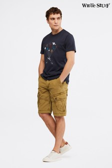 White Stuff Natural Harbour Organic Cargo Shorts