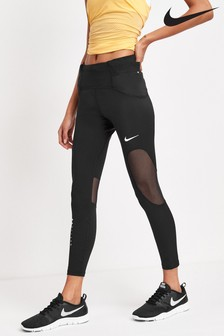 Nike Black Icon Clash Speed Leggings
