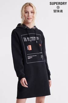 Superdry Hybrid Hooded Sweat Dress