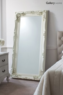 Carved Louis Leaner Mirror by Gallery Direct