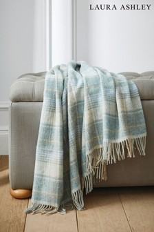 Laura Ashley Cranbourne Check Throw