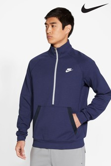 Nike Modern 1/2 Zip Fleece Sweat Top