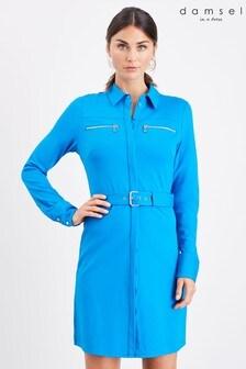 Damsel In A Dress Blue Isidore Dress