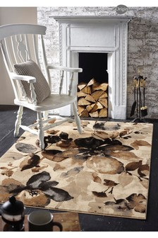 Watercolour Floral Rug by Origins