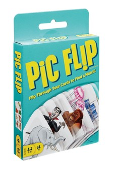 Mattel Games Pic Flip Card Game