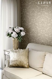 Luxe Damask Wallpaper by Lipsy
