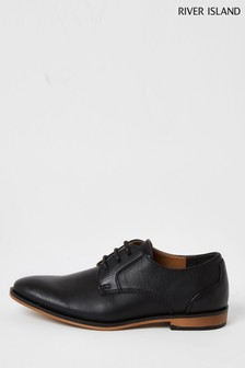 River Island Black Point Shoes