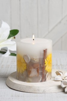 White Jasmine Inclusion Candle