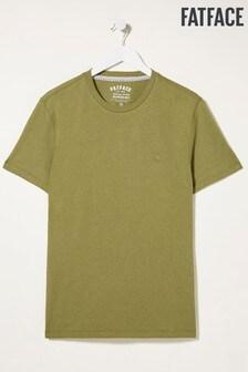 FatFace Green Lulworth Crew T-Shirt