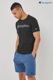 Champion Black T-Shirt