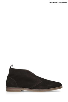Kurt Geiger Brown Porter Boots
