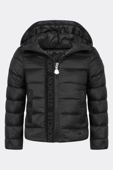 Moncler Enfant Girls Black Glycine Jacket