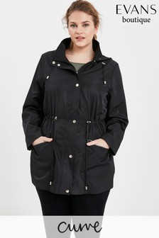 Evans Curve Black Lightweight Jacket