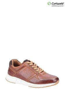 Cotswolds Brown Hankerton Lace-Up Shoes