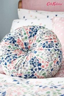 Cath Kidston Pink Bluebell Round Cushion