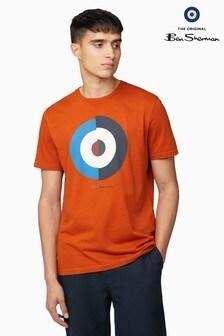 Ben Sherman Orange Target Vertical T-Shirt