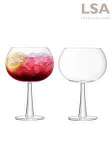 Set of 2 Gin Grand Balloon by LSA International