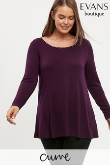 Evans Curve Purple Swing Jumper