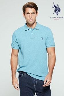 U.S. Polo Assn. Blue Poloshirt