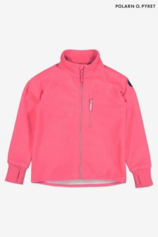 Polarn O. Pyret Pink Waterproof Fleece Jacket