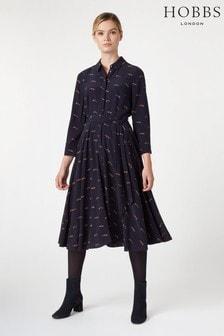 Hobbs Blue Lainey Dress