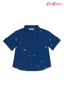 Cath Kidston Blue Mini Sports Oliver Shirt