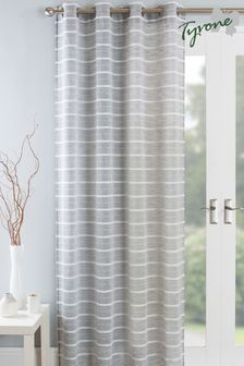 Tyrone Antigua Eyelet Voile Curtains