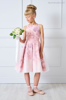 Angel & Rocket Pink Rose Floral Dress