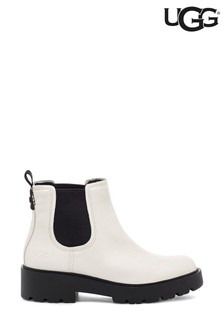 UGG® White Markstrum Heavy Duty Ankle Boots